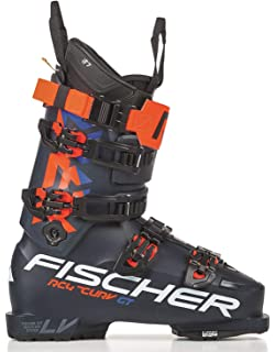 FISCHER RC4 THE CURV 130  VACUUM WALK  blau-orange, gelb SKI Ausrüstung, TOP WINTERSPORT ARTIKEL