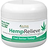 Organic Hemp Extract Pain Relief Cream Plus Arnica and MSM (Tamaño: 2 oz)