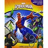 Spider-Man. Mi libro-juego: Incluye un cuento, figuritas y un tapete para jugar