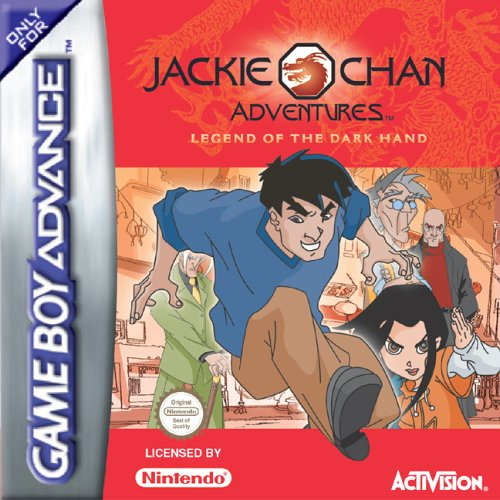 Обложка игры Jackie Chan Adventures: Legend of the Dark Hand.