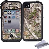 Wisdompro Colorful Decorative Vinyl Decal Skin Stickers for Lifeproof iPhone 4/4s Case (Tree Camo)