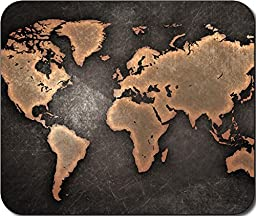 World Map Large Mousepad Mouse Pad Great Gift Idea by MYDply