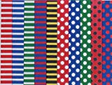 marpa jansen / マーパ ヤンセン ドイツの両面折り紙(水玉&ストライプ) 20cmX20cm/100枚/517.602/made in Germany