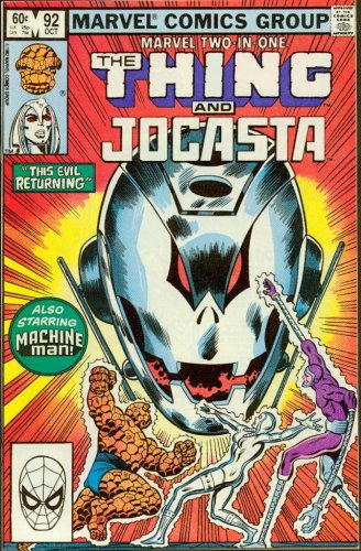Marvel Two-In-One #92 The Thing and Jocasta (Jocasta Marvel compare prices)