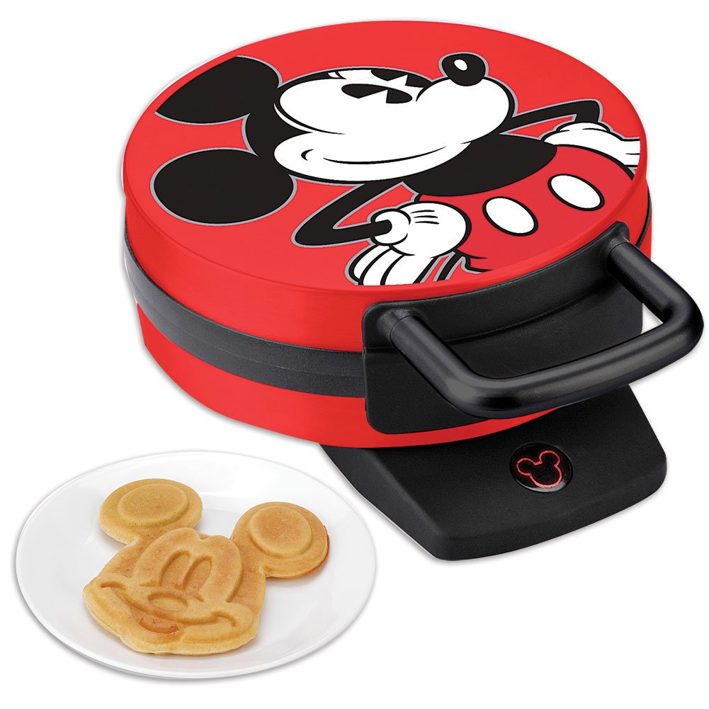Mickey Mouse waffle maker available via Amazon