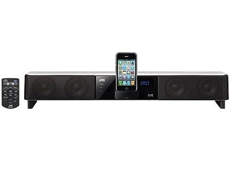 JVC Soundbar with Iphone dock HDMI, TH-LB2-WE (Import Royaume Uni)