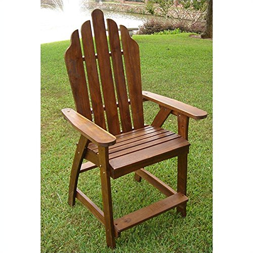 International Caravan Adirondack Bar Heigh Patio Chair image
