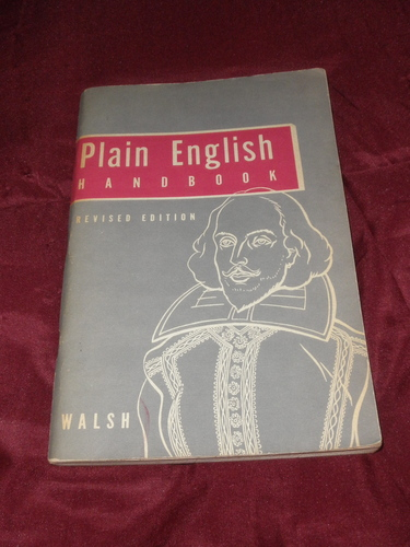 plain english handbook walsh