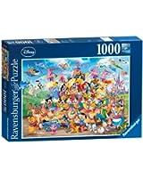 Ravensburger 19383 7 - Carnevale Disney, Puzzle 1000 Pezzi