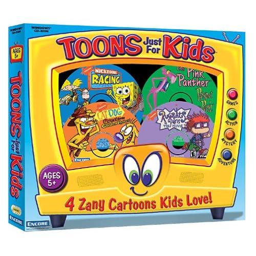 Amazon.com: Toons Just For Kids: Nicktoons Racing / The