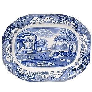 Amazon.com | Spode Blue Italian Oval Platter: Platters
