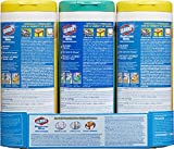 Clorox Disinfecting Wipes Value Pack, Fresh Scent and Citrus Blend, 105 Count