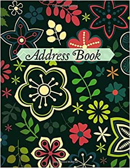 Address Book (Simple And Affordable Address Books ) (Volume 58)