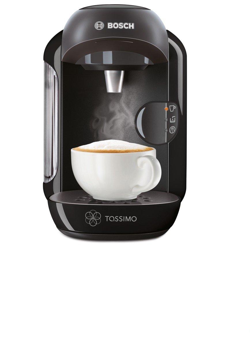Tassimo Coffee Maker Dimensions : Bosch Tassimo Black Vivy Hot Drinks Beverage Machine Coffee Espresso TAS1252GB