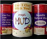 AMACO Magic Mud Air Dry Clay, 3-Pound, Natural
