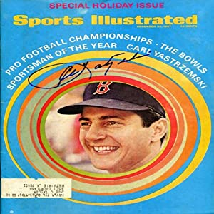 Buy Carl Yastrzemski Autographed Sports Illustrated Magazine - December 25, 1967 by Hollywood Collectibles