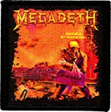 Rockabilia Megadeth Embroidered Patch