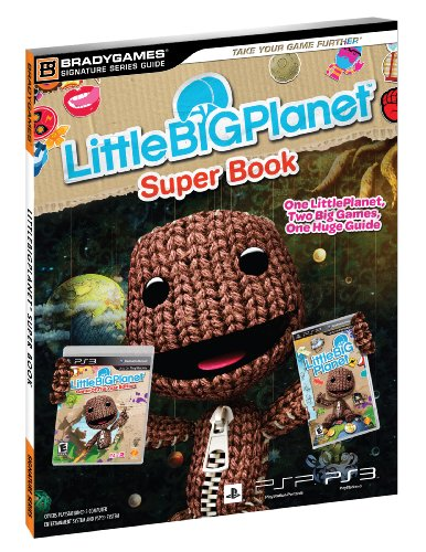 Brady Games Littlebigplanet Super Book Signature Series Strategy Guide Bradygames Signature