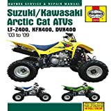 Suzuki/Kawasaki Artic Cat ATVs 2003 to 2009: LT-Z400, KFX400, DVX400 (Haynes Repair Manual)