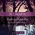 Death of a Poison Pen Audiobook by M. C. Beaton Narrated by Graeme Malcolm
