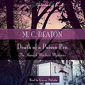 Death of a Poison Pen Audiobook