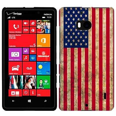 Nokia Lumia Icon Retro American Flag Phone Case by TrekCases