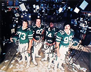 New York Jets Sack Exchange Signed Autographed 16x20 Photo PSA by Insider Sports Deals