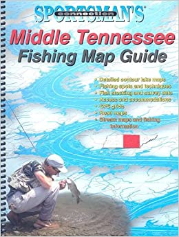 Middle tennessee fishing map guide sportsman 39 s connection for Tennessee fishing guide