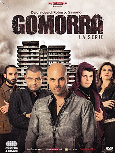 gomorra - season 01 (4 dvd) box set dvd Italian Import