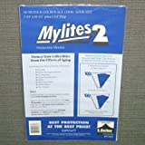 "Mylites 2 Mil Comic Book Silver & Golden Age Size 7 3/4"" x 10 1/2"" Plus 1-1/2"" Flap Pack of 50"