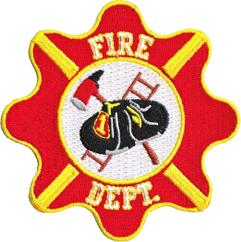 Application Rescue Fire Dept. Crest Patch - 1