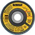 DEWALT DWA8207 60 Grit Zirconia T29 Flap, 4-1/2-Inch X 7/8-Inch