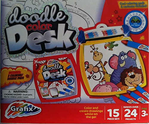 Doodle Color Desk - Color And Create Drawings While On The Go!! front-83599