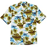 Caribbean Joe Mens Island Plane Shirt