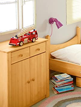 Cambio de mesa, cómoda Noah, madera de aliso 90x79x50 cm biológica masiva
