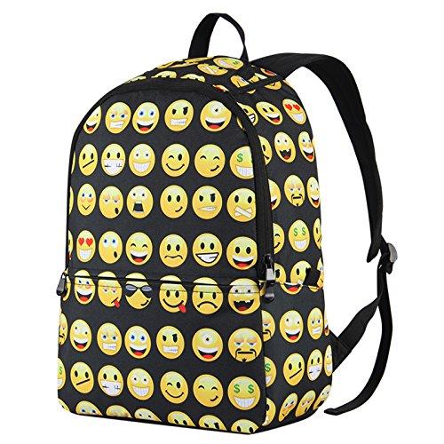 Hynes Eagle Cute Emoji Backpack Cool Kids School Backpack