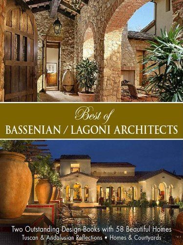 Buy best architecture books - Best Of Bassenian/Lagonia Architects-Two Outstanding Designs Books With 48 Beautiful Homes