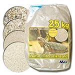 25kg Terrariensand NATUR BEIGE weiche...
