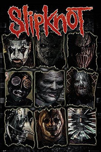 Empire, Poster degli Slipknot, Multicolore (Bunt), 61 x 91,5 cm