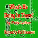 What's He Doing in There? Audiobook by Fritz Leiber Narrated by Phil Chenevert