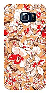 TrilMil Printed Designer Mobile Case Back Cover For Samsung Galaxy S6