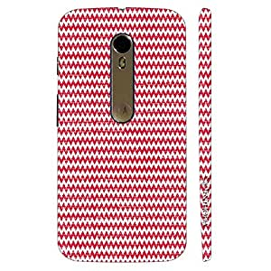Enthopia Designer Hardshell Case WOOLEN CHEVRON Back Cover for Motorola Moto X Style