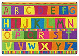 ABC Tapestry Kids Rugs Area Rug 5\'x8\'