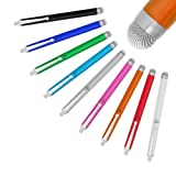 Stylus Pens for Touch Screens, Fine Point Active Smart Digital Pencil Compatible iPad and Most Tablet (Color: white)