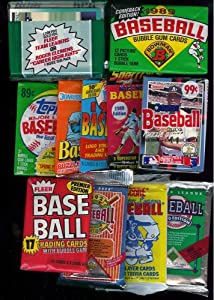 75 Vintage Unopened Packs of Baseball Cards, Football Cards & Basketball Cards... by Rookies HQ