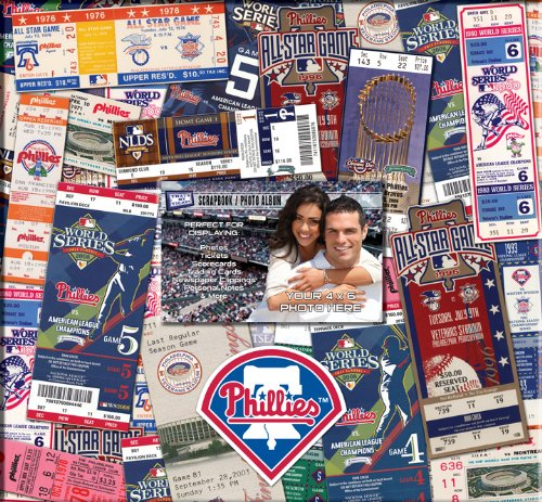 Philadelphia Phillies 12 x 12 Ticket & Photo Scrapbook at Amazon.com