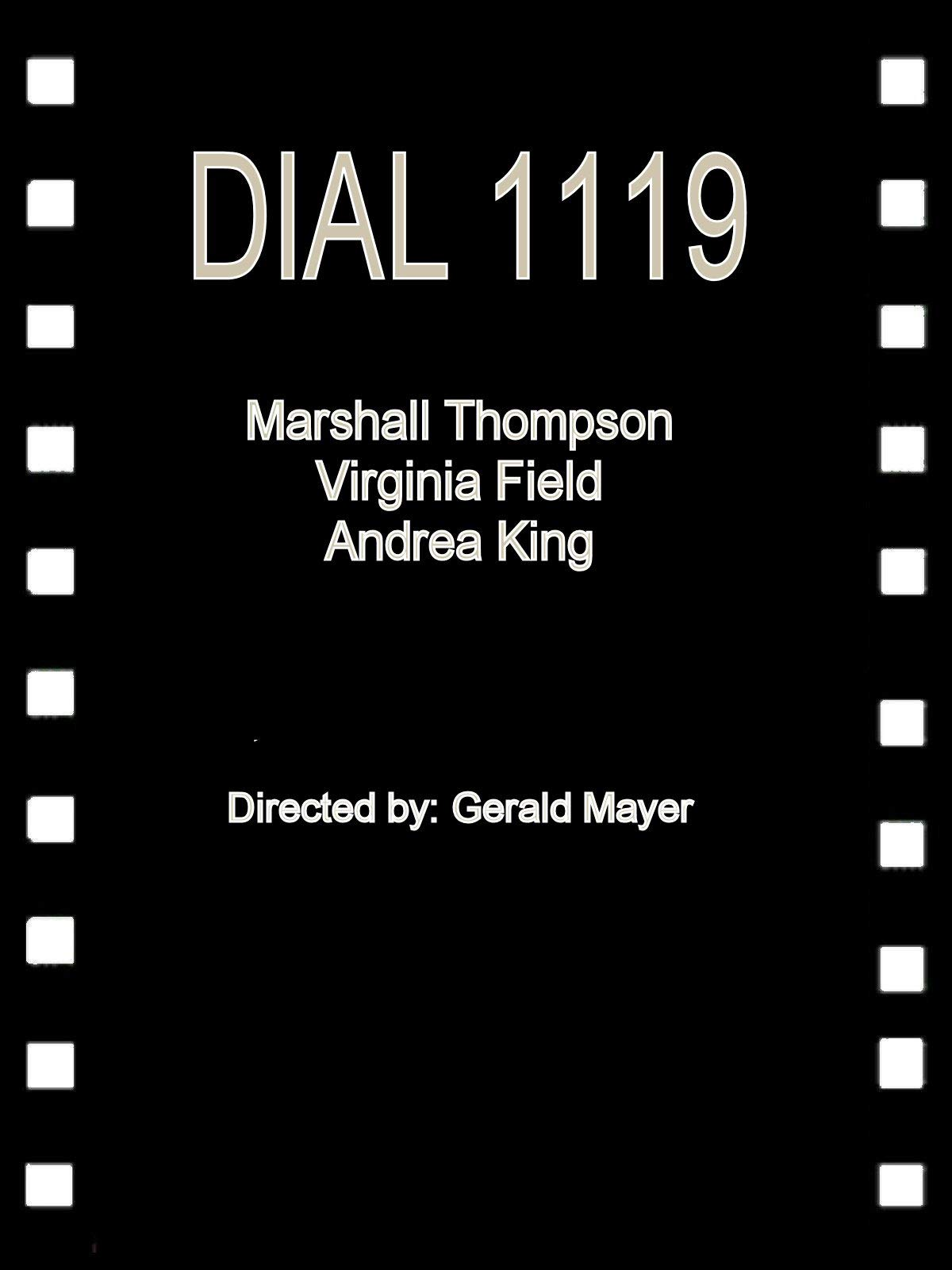 Dial 1119 on Amazon Prime Instant Video UK
