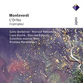"Monteverdi : L'Orfeo : Act 4 ""Ahi, vista troppo dolce"" [Euridice]"