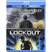 Battle Los Angeles / Lockout Unrated Edition Double Feature on Blu-ray