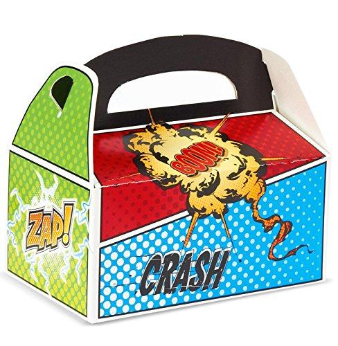 Superhero Comics Empty Favor Boxes (4)